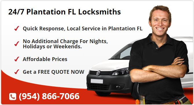24 Hour Locksmith Plantation FL